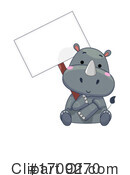 Rhino Clipart #1709270 by BNP Design Studio