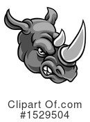 Rhinoceros Clipart #1529504 by AtStockIllustration