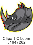 Rhinoceros Clipart #1647262 by Morphart Creations