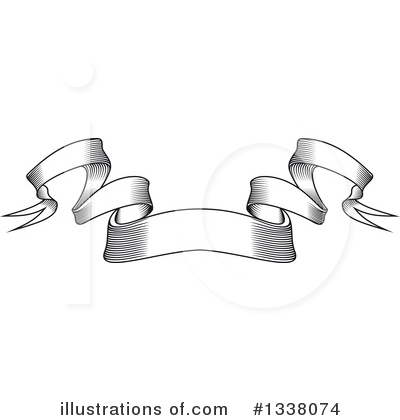 Ribbon Banner Clipart #1338074 by Vector Tradition SM