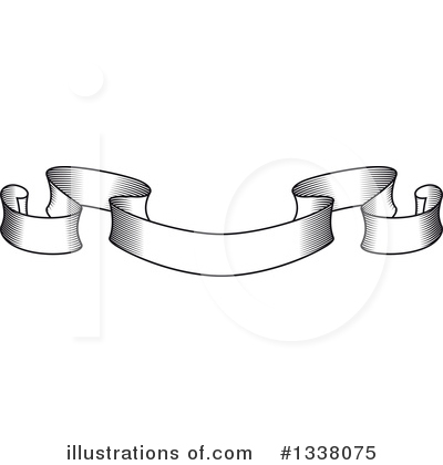Ribbon Banner Clipart #1338075 by Vector Tradition SM