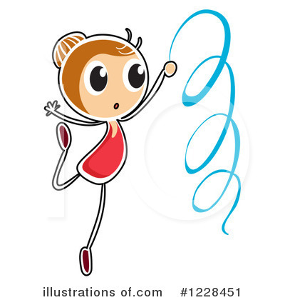 Gymnastics Clipart #1228451 by Graphics RF