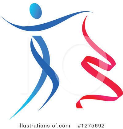Gymnastics Clipart #1275692 by Vector Tradition SM