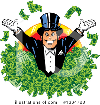 Businessman Clipart #1364728 by Clip Art Mascots