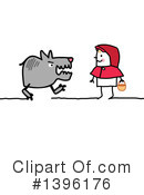 Riding Hood Clipart #1396176 by NL shop
