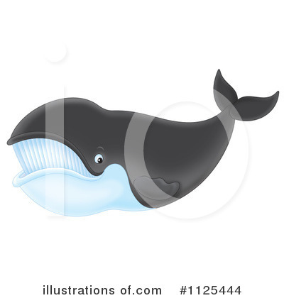 Whale Clipart #1125444 by Alex Bannykh