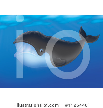 Whale Clipart #1125446 by Alex Bannykh