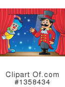 Royalty-Free (RF) Ringmaster Clipart Illustration #1358434
