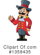 Royalty-Free (RF) Ringmaster Clipart Illustration #1358435