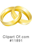 Royalty-Free (RF) Rings Clipart Illustration #11891