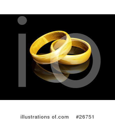 Royalty-Free (RF) Rings Clipart Illustration by KJ Pargeter - Stock Sample #26751