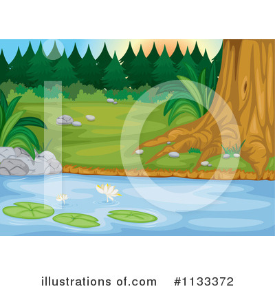 Water Lily Clipart #1133372 by Graphics RF