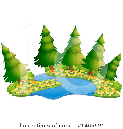 Tree Clipart #1465921 by Graphics RF