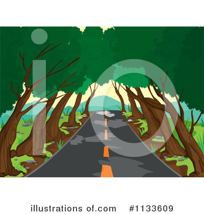 Road Clipart #1133609 by Graphics RF