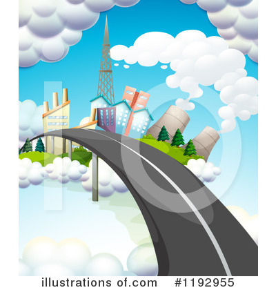 Royalty-Free (RF) Road Clipart Illustration by Graphics RF - Stock Sample #1192955