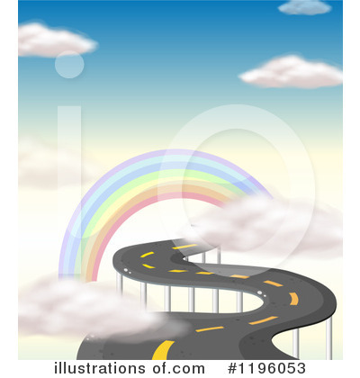 Rainbow Clipart #1196053 by Graphics RF