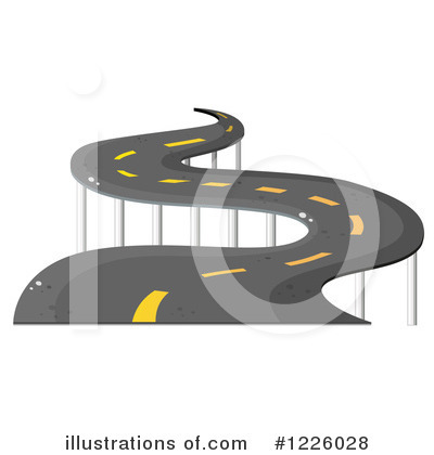 Road Clipart #1226028 by Graphics RF