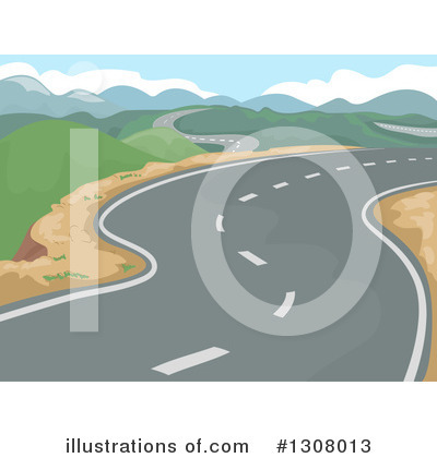 Mountains Clipart #1308013 by BNP Design Studio