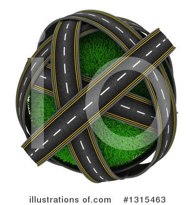 Road Clipart #1315463 by KJ Pargeter
