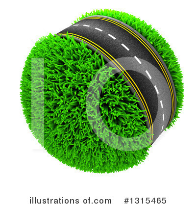 Road Clipart #1315465 by KJ Pargeter