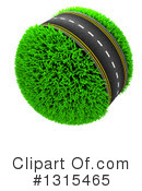 Royalty-Free (RF) Road Clipart Illustration #1315465