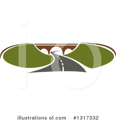 Road Clipart #1317332 by Vector Tradition SM