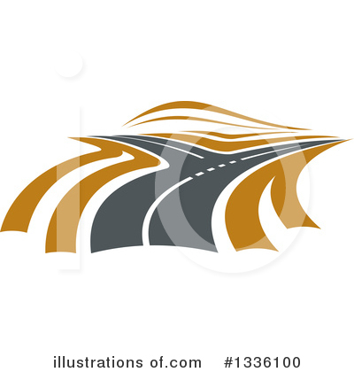 Road Clipart #1336100 by Vector Tradition SM