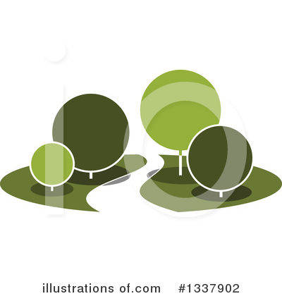 Trees Clipart #1337902 by Vector Tradition SM