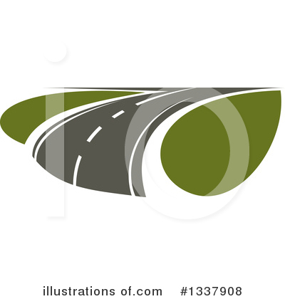 Road Clipart #1337908 by Vector Tradition SM