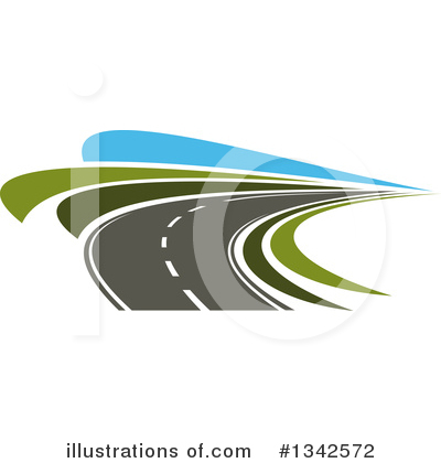 Road Clipart #1342572 by Vector Tradition SM