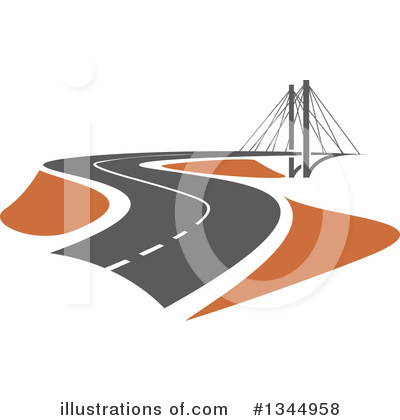 Bridge Clipart #1344958 by Vector Tradition SM