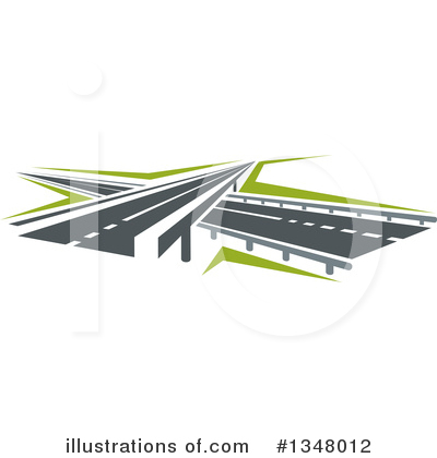 Road Clipart #1348012 by Vector Tradition SM