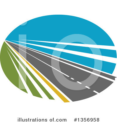 Road Clipart #1356958 by Vector Tradition SM