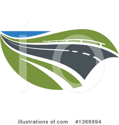 Road Clipart #1366994 by Vector Tradition SM