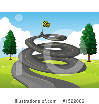Racing Clipart #1522066 by Graphics RF