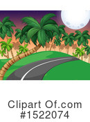 Royalty-Free (RF) Road Clipart Illustration #1522074