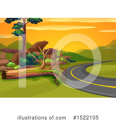 Road Clipart #1522105 by Graphics RF