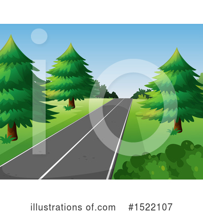 Road Clipart #1522107 by Graphics RF
