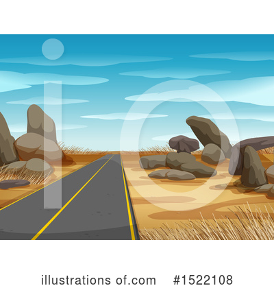 Road Clipart #1522108 by Graphics RF