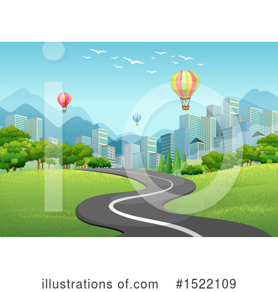 Hot Air Balloon Clipart #1522109 by Graphics RF