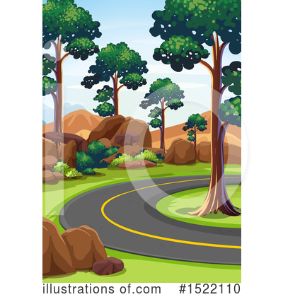 Road Clipart #1522110 by Graphics RF