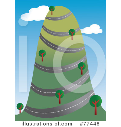 Royalty-Free (RF) Road Clipart Illustration by Prawny - Stock Sample #77446