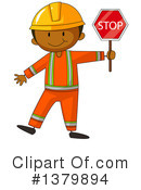 Road Construction Clipart #1379894 by Graphics RF