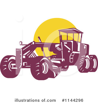 Heavy Machinery Clipart #1144296 by patrimonio