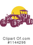Road Grader Clipart #1144296 by patrimonio