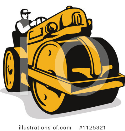 Heavy Machinery Clipart #1125321 by patrimonio