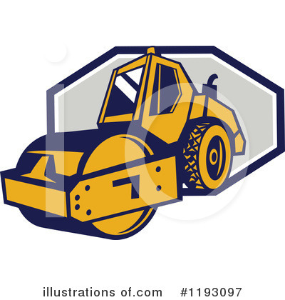 Heavy Machinery Clipart #1193097 by patrimonio
