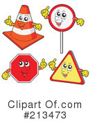 Road Sign Clipart #213473 by visekart