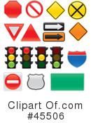Road Sign Clipart #45506