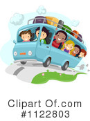 Royalty-Free (RF) Road Trip Clipart Illustration #1122803